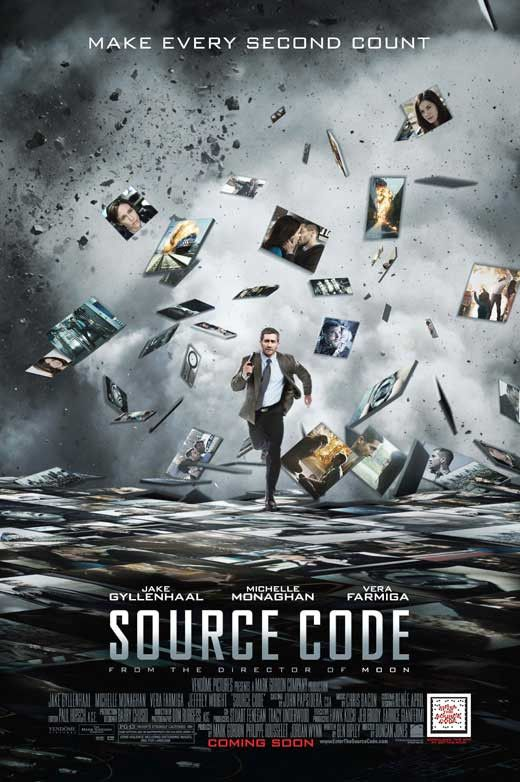 Source Code 11x17 Movie Poster (2011)