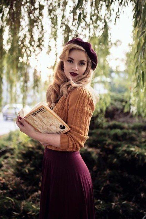 @Vintagemaedchen_by_victoria Moda vintage