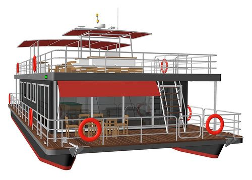 Click this image to show the full-size version Floating homes