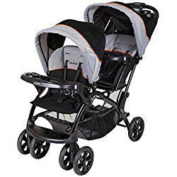 Baby Trend Double Sit N Stand Stroller, Millennium Orange