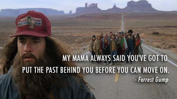 The best Forrest Gump quote