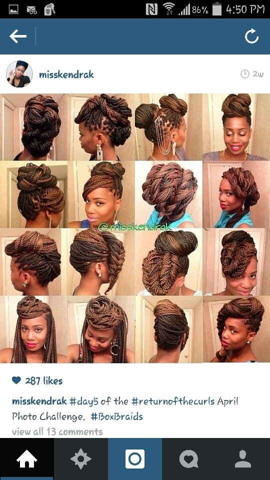 Braided protective styles Hair Care & Style Pinterest Protective ...