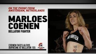 awesome Marloes Coenen on Bellator 155 Bout vs. Alexis Dufresne, Short-Notice Challenger & More