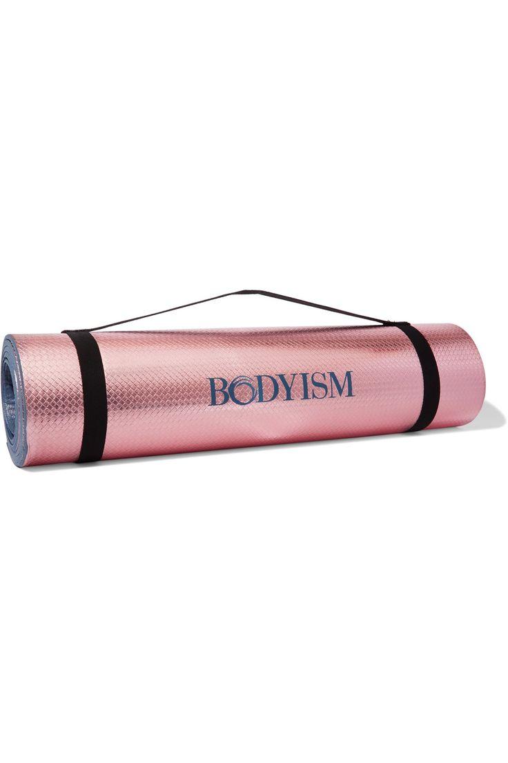 Bodyism Printed Metallic Yoga Mat Gifted Yoga