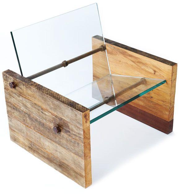 Cadeira de vidro – Bem Legaus