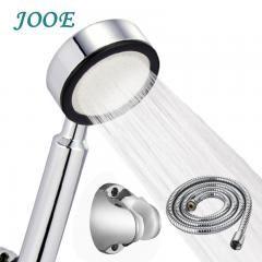 [ 29% OFF ] Jooe High Pressure Chrome Shower Head Water Saving Bathroom Showerhead Hose And Holder Hand Shower Set Chuveiros Para Banheiro