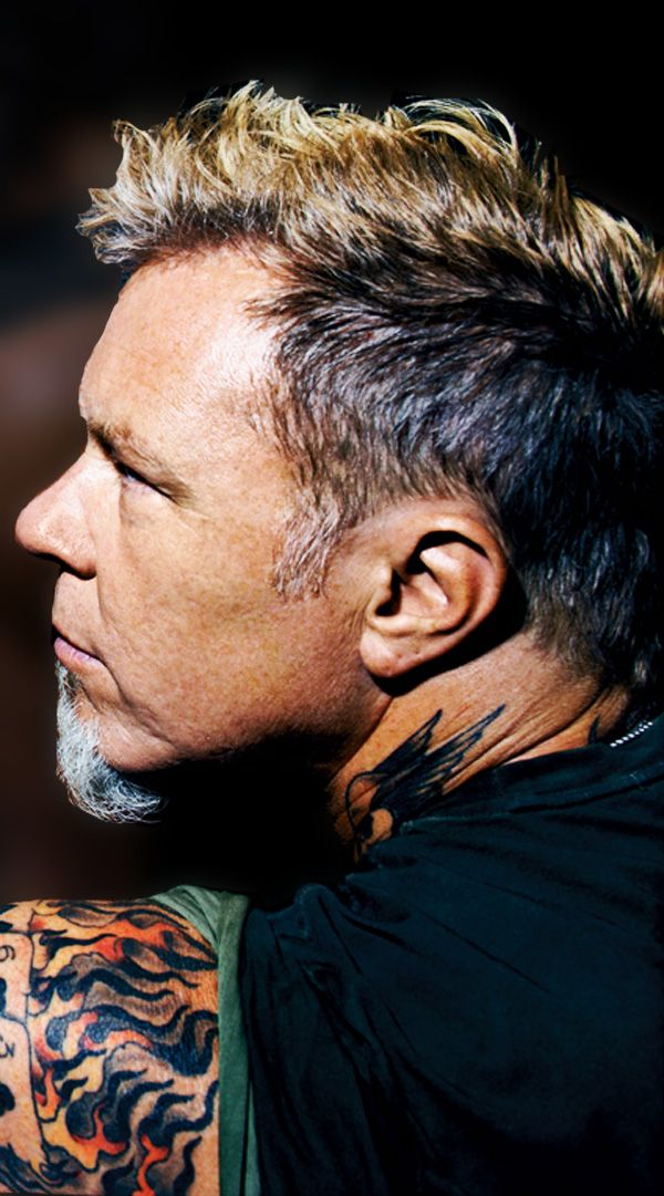 James Hetfield. Metallica has been in my life since I was 5 years old and I absolutely love them.