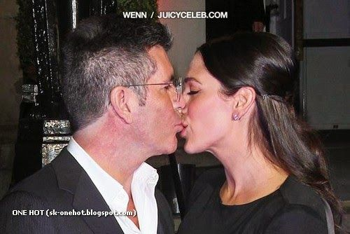 Simon Cowel and Lauren Silverman