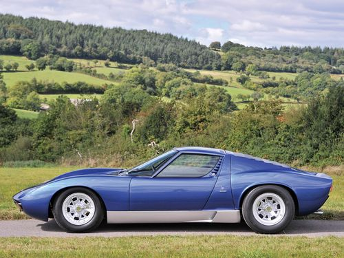 Awesome Car For Sale: Rod Stewart's Old 1971 Lamborghini Miura P400 SV