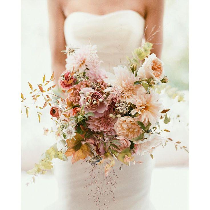 Wedding at Wave Hill last September: image by @heatherwaraksa flowers by @saipua via IG