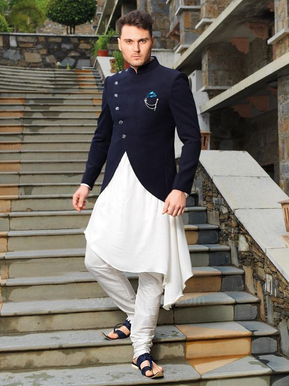 a1201b4cc4ae 40 Top Indian Engagement Dresses for Men in 2019