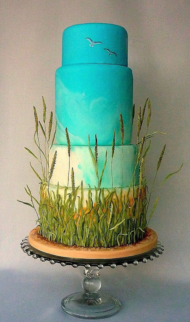 Cake Decorating Making Grass : 1000+ ideas about Grass Cake on Pinterest Lawn Mower ...