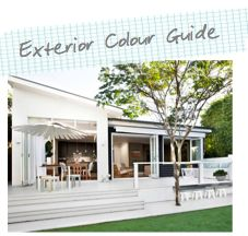 Tips for a successful exterior colour scheme from Australia but works in the North Bay as well.
