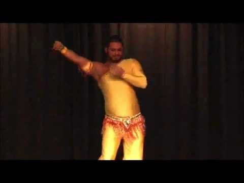 Azad Kaan, Raks Nelly at the students show of his home school Chakra Dance Center - YouTube