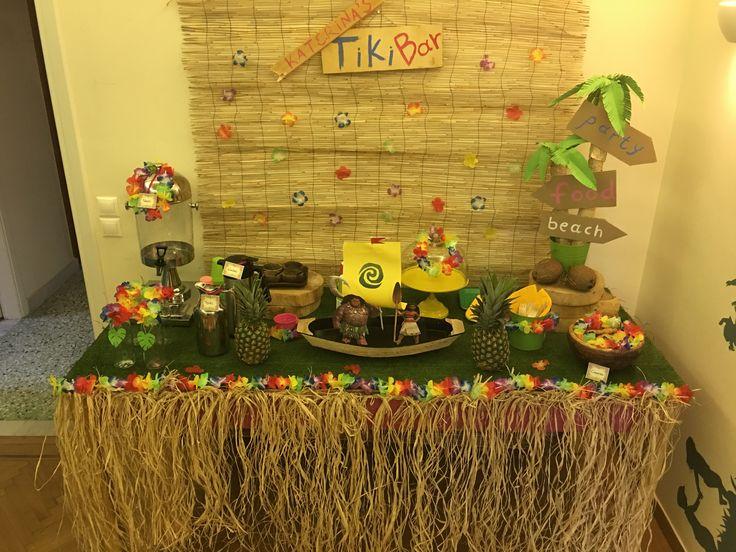 Moana party Vaiana party Hawaiian party Luau party Tropical party