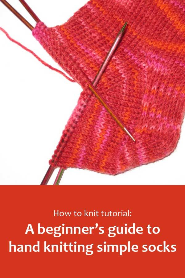 A step by step guide to knitting top-down socks. #BeingKnitterlytutorial #howtoknit #knittingtutorial #learntoknit