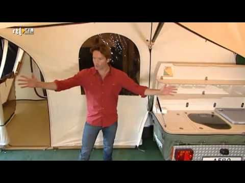 Holtkamper Cocoon Aero Windforce Tenttrailer (vouwwagen) - YouTube