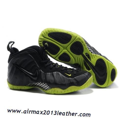 Nike Air Foamposite Pro Black Varsity Green 2013