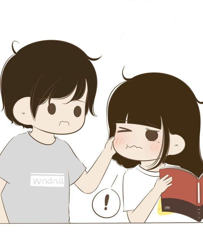 Really Miss Pulling Those Cute Cheeks Cute Love Cartoons Cute Couple Wallpaper Cartoons Love