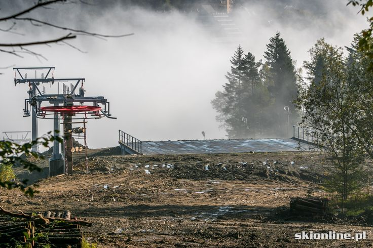 SN Henryk-Ski - budowa nowej kolei
