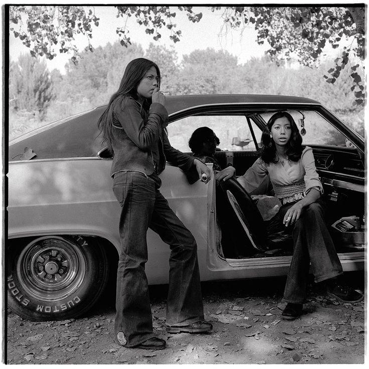 Jesus Manuel & Mena Garza in Chicano Park, 1973