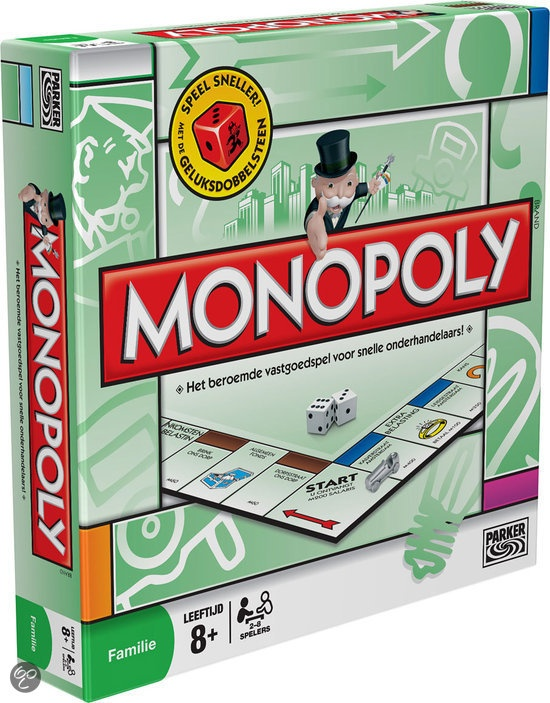 $ Monopoly classic Parker/Hasbro