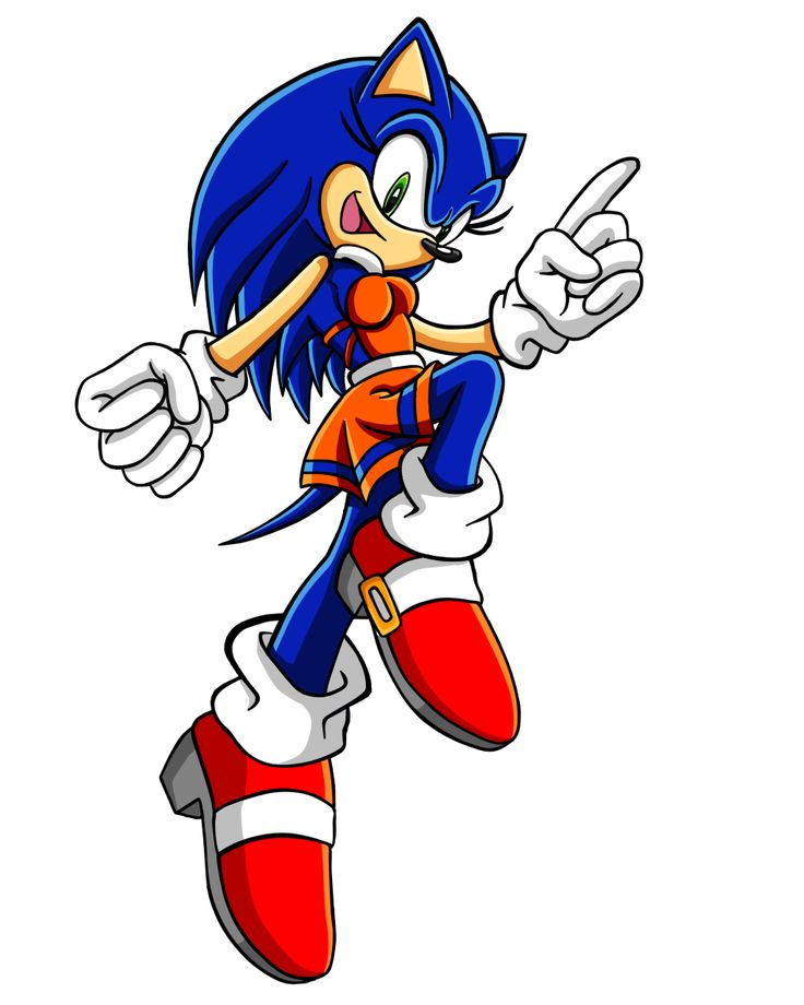 Sonic the Hedgehog Gender Bender by Sorikku za Hejjihoggu.   Soric the Hedgehog [SRush]