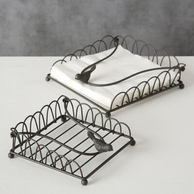 Darby Home Co Bird Flat Napkin Holder