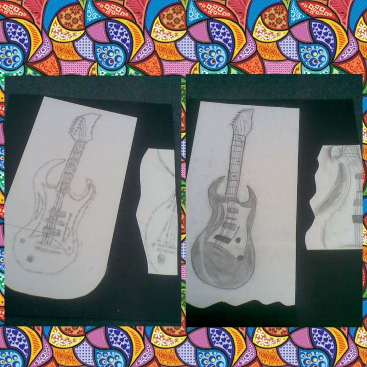 Drawing detail. Students selected a musical instrument and then sketched it. Their job was then to to select a piece of detail from the instrument. The draw it enhanced and add it to the piece of work. Completed by year 5 students.