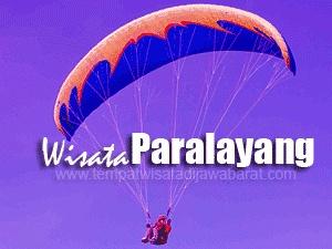 paraglading / Tempat Paralayang di Jawa Barat