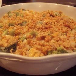 Vernita's Broccoli Casserole Allrecipes.com Oven 350 degrees