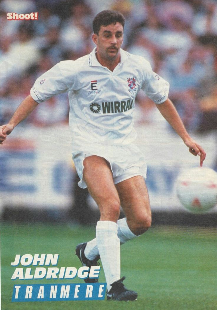 John Aldridge of Tranmere Rovers in 1993.