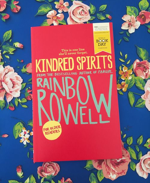 A short story for World Book Day — Rainbow Rowell