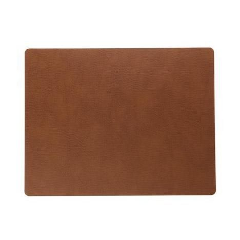 Leather table mat - Square bull nature from KOPERHUIS