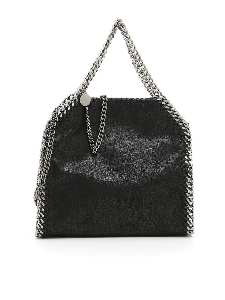 STELLA MCCARTNEY Falabella Mini Tote Bag. #stellamccartney #bags #shoulder bags #hand bags #leather #tote #lining #