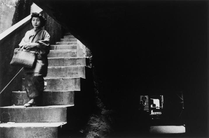"Ikko NARAHARA :: Island without Green―Gunkanjima: Apartment Stairs from ""Human Land″, 1954-57"