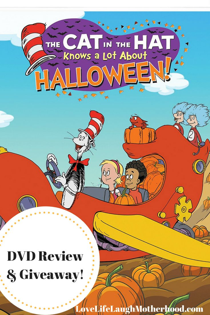The Cat In The Hat Knows A Lot About Halloween DVD Review & Giveaway #Halloween #DVD
