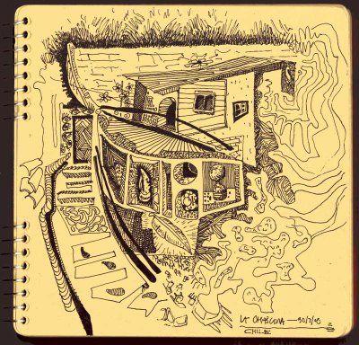 Fíjese Usted: La Chascona, casa de Pablo Neruda