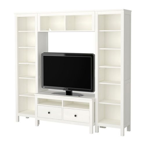 17 best images about tv stand with shelves on pinterest for Media center with bookshelves