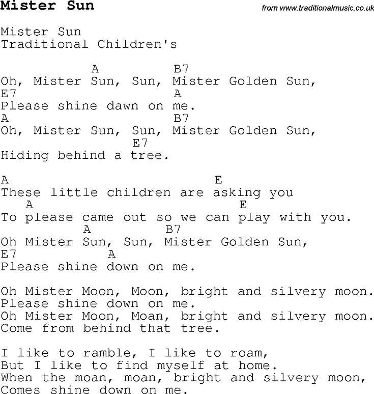 Mr Sunshine Song   giftsforsubs