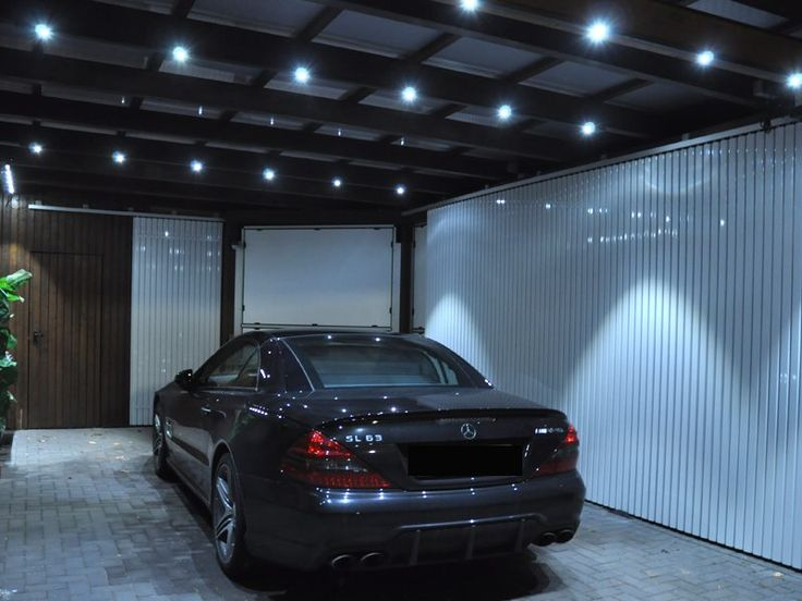 7 besten beleuchtung f r garage carport wintergarten bilder auf pinterest wintergarten. Black Bedroom Furniture Sets. Home Design Ideas