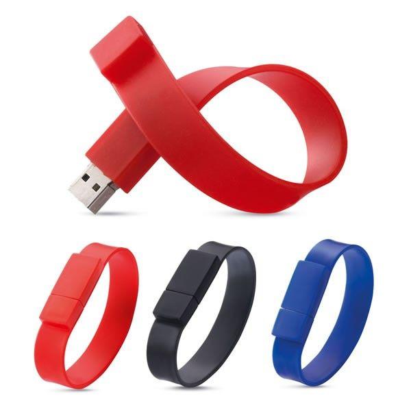 Clé USB Bracelet Silicone