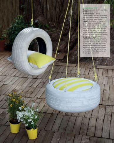 DIY Swing Units And Slides For Superb Playgrounds