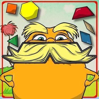 Pattern Block Puzzles - Dr. Seuss' The Lorax