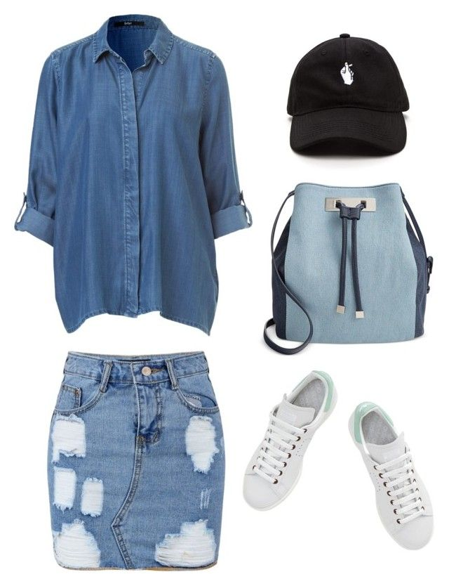 First by riskisaumirf on Polyvore featuring polyvore, fashion, style, adidas, INC International Concepts and clothing