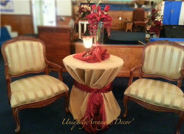 TABLE DECORATION FOR PASTOR ANNIVERSARY | just b.CAUSE