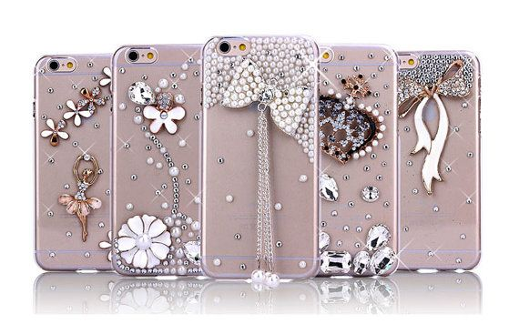 For iPhone 5 5S 6 6 6s 6s Cute LUXURY 3D by NancyBoutiqueUSA