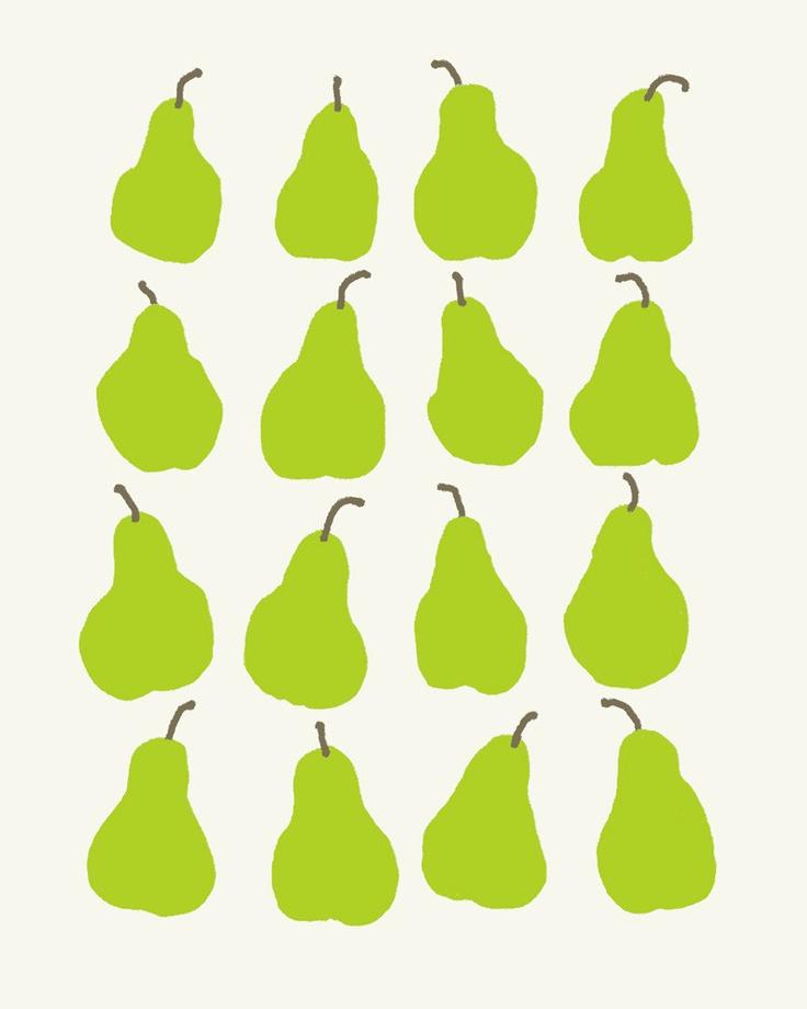 Fine Art Print.  Pears.  November 15, 2011.. $80.00, via Etsy.