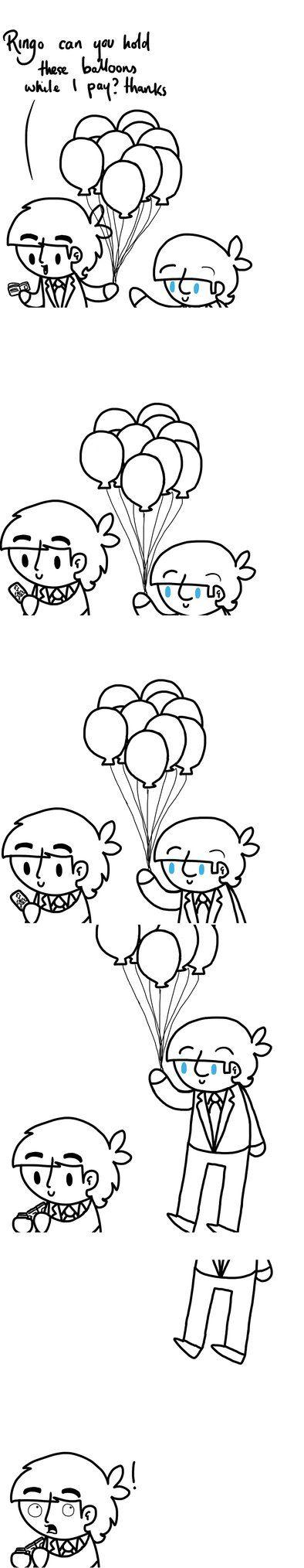 Balloons by ChazzyLlama on DeviantArt