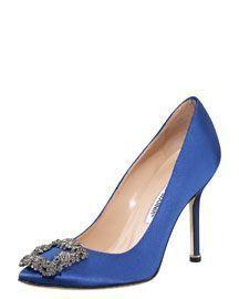 Evening - Shoe Salon - Bergdorf Goodman - Bergdorf Goodman #manoloblahnikheelsbergdorfgoodman
